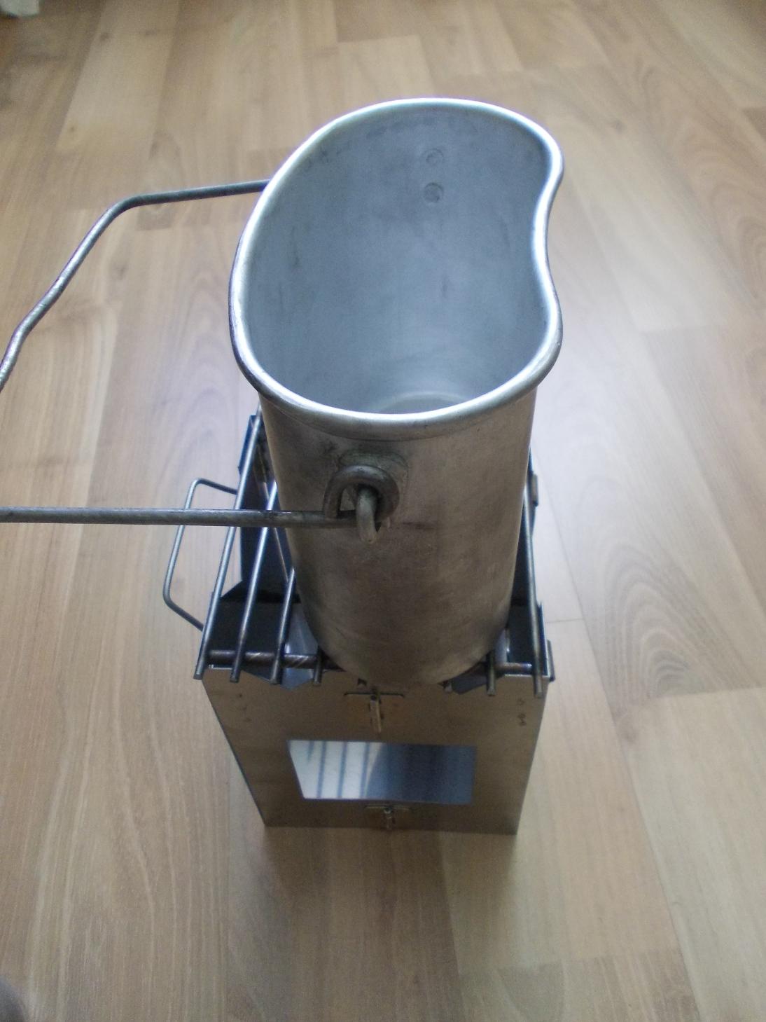 Походная печь для обогрева палатки своими руками