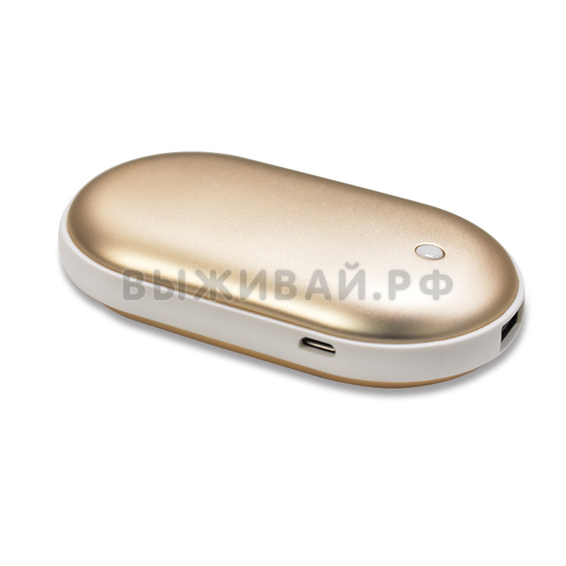 Грелка  для рук - Pebble Hand Warmer + Power Bank 5000mAh