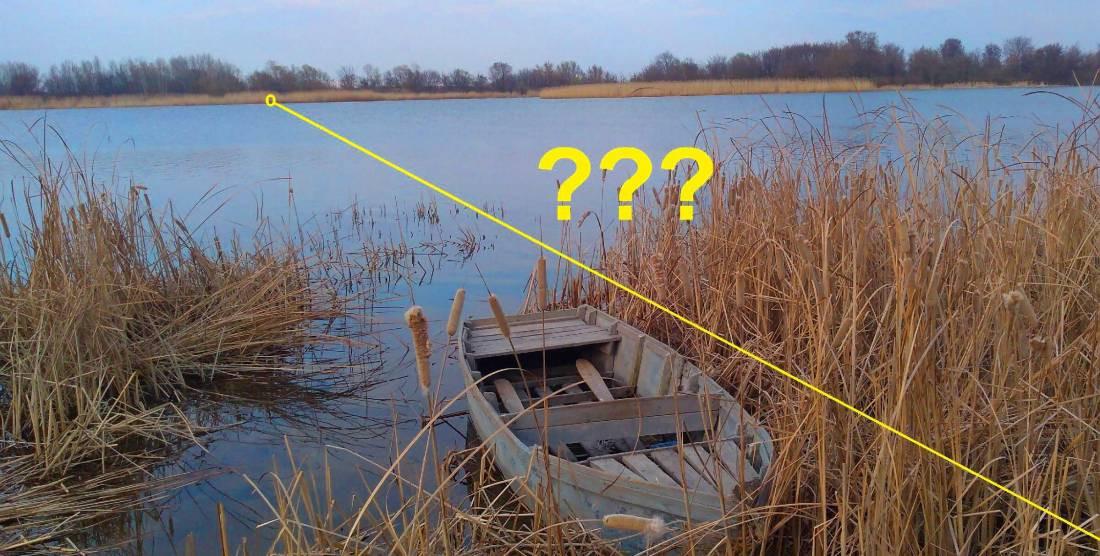 Как измерить ширину реки без лодки и дальномера 2 простых способа
