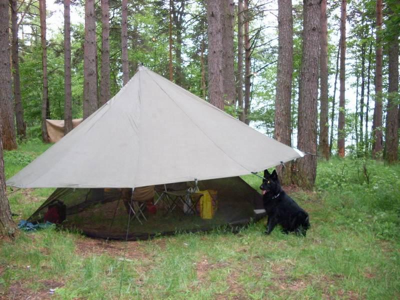 Гамак-палатка, гамак походный и тент-типи