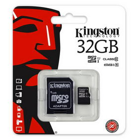 Карта Kingston SDHC MicroSD 10Class 32GB