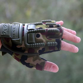 Перчатки без пальцев OutDoor Gloves CAMO